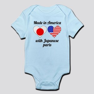 Made In America With Japanese Parts Body Suit