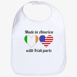 Made In America With Irish Parts Bib