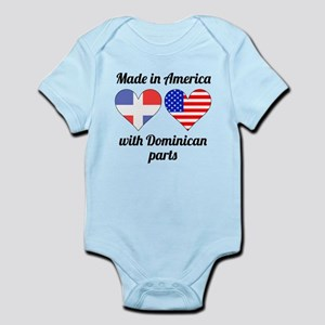 Made In America With Dominican Parts Body Suit