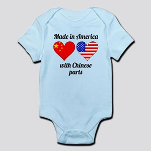 Made In America With Chinese Parts Body Suit
