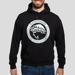 Olympiacos White Hoodie (dark)