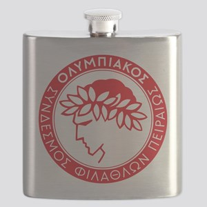 Olympiacos Red Flask
