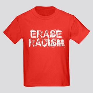 Erase Racism Kids Dark T-Shirt