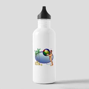 Beach Ball Stainless Water Bottle 1.0L