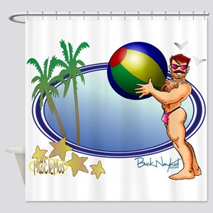 Beach Ball Shower Curtain