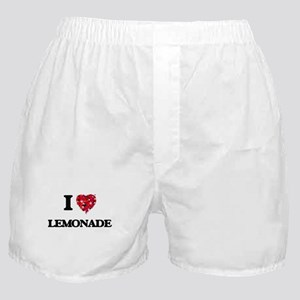 I Love Lemonade Boxer Shorts