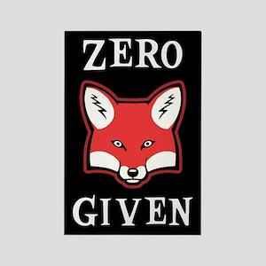 Zero (Fox) Given Rectangle Magnet