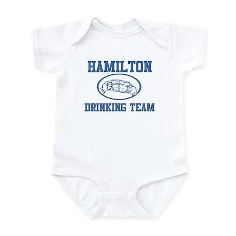 HAMILTON drinking team Infant Bodysuit