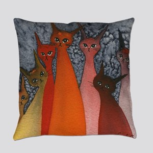 Casablanca Stray Cats Everyday Pillow