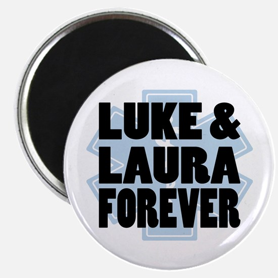 Luke and Laura Magnets