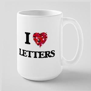 I love Letters Mugs