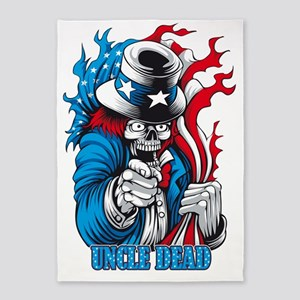 Uncle Dead wants You! 5'x7'Area Rug