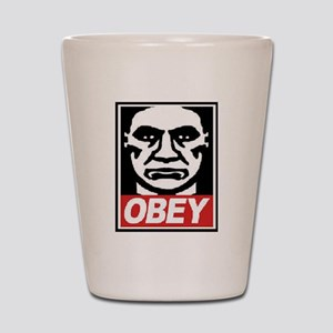 Obey  Shot Glass