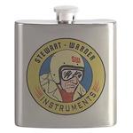 Stewart Warner Retro Flask