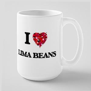 I Love Lima Beans Mugs