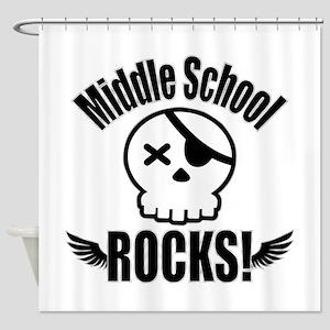 Middle School Rocks Shower Curtain