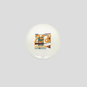 Vintage 75th Birthday Mini Button