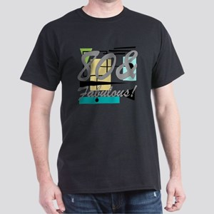 Vintage 80th Birthday Dark T-Shirt
