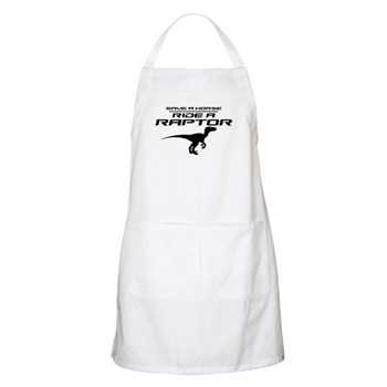 Save a Horse, Ride a Raptor Apron