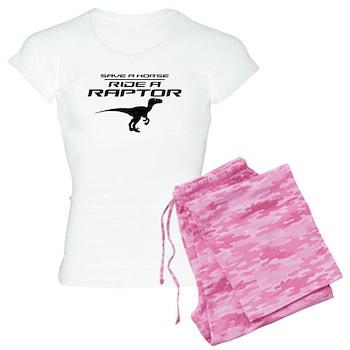 Save a Horse, Ride a Raptor Women's Light Pajamas