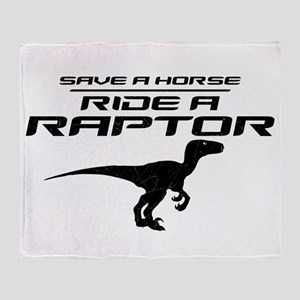 Save a Horse, Ride a Raptor Stadium Blanket