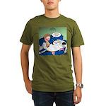 Bessie BFF Organic Men's T-Shirt (dark)