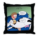 Bessie BFF Throw Pillow