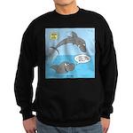 Shark Jumping Sweatshirt (dark)