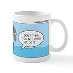 Shark Jumping Mug