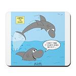 Shark Jumping Mousepad