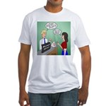 Airline Baggage Fees Fitted T-Shirt
