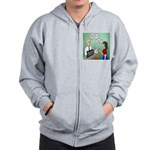 Airline Baggage Fees Zip Hoodie