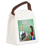 Airline Baggage Fees Canvas Lunch Bag