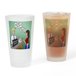 Airline Baggage Fees Drinking Glass