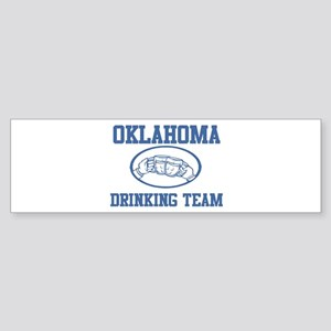 OKLAHOMA drinking team Bumper Sticker