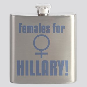 Females for Hillary Flask