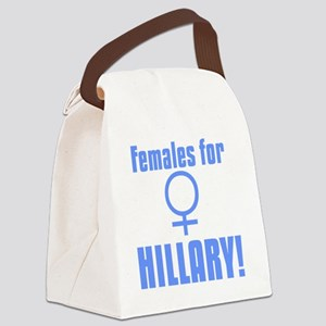 Females for Hillary Canvas Lunch Bag
