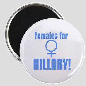 Females for Hillary Magnet