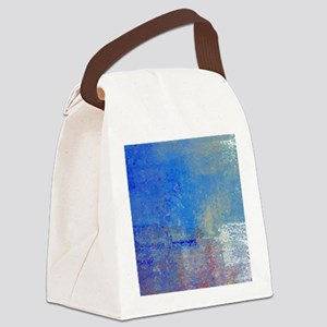 Abstract Seascape Canvas Lunch Bag