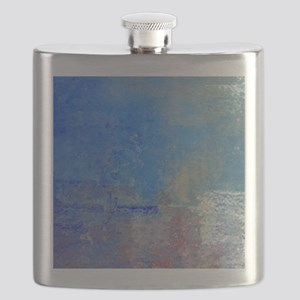 Abstract Seascape Flask