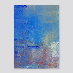 Abstract Seascape 5'x7'Area Rug