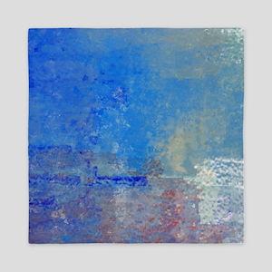 Abstract Seascape Queen Duvet
