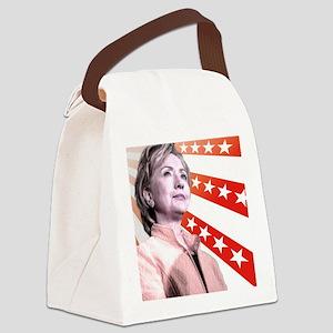 Hillary Stars Canvas Lunch Bag