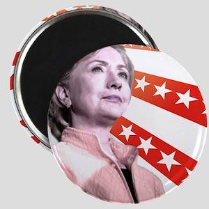 Hillary Stars Magnet