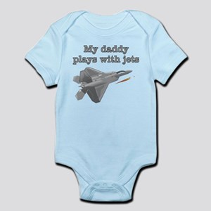 DADDY PLAYS WITH JETS Body Suit