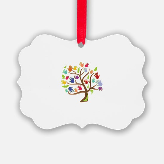 Tree Of Hands Ornament