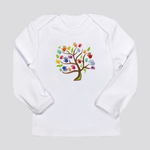 Tree Of Hands Long Sleeve T-Shirt