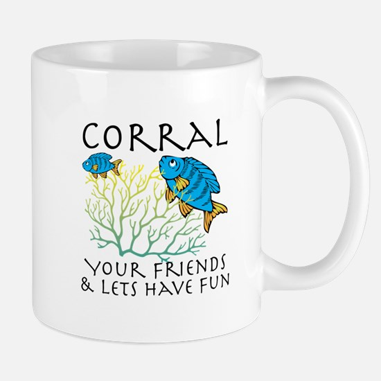 Corral Your Friends Mugs