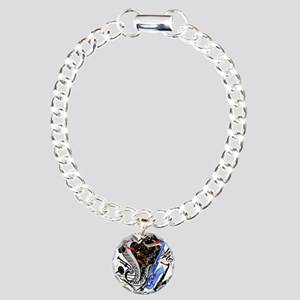 Musical Instruments Band Charm Bracelet, One Charm