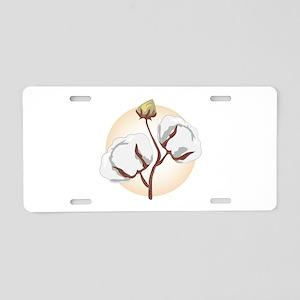 Cotton Aluminum License Plate